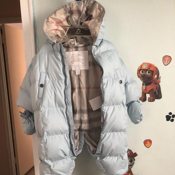 62d16a25d Burberry Jackets & Coats | Skylar Quilted Down Snowsuit | Poshmark